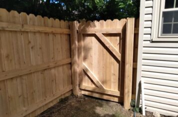 wood fence installation in jackson, jackson fence installation, jackson fence company