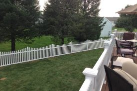 plastic fence gate installation, West Bend plastic gate installation, plastic gate West Bend installation