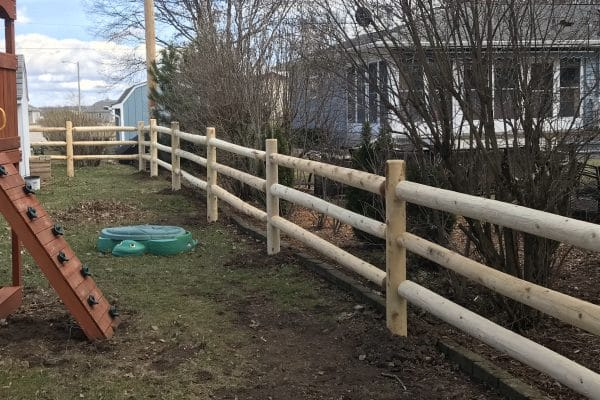 split rail fence installation, west bend fence company, split rail fence west bend